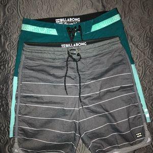 Billabong board/beach shorts.